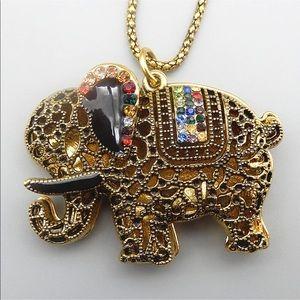 Multicolor Elephant 🐘Necklace